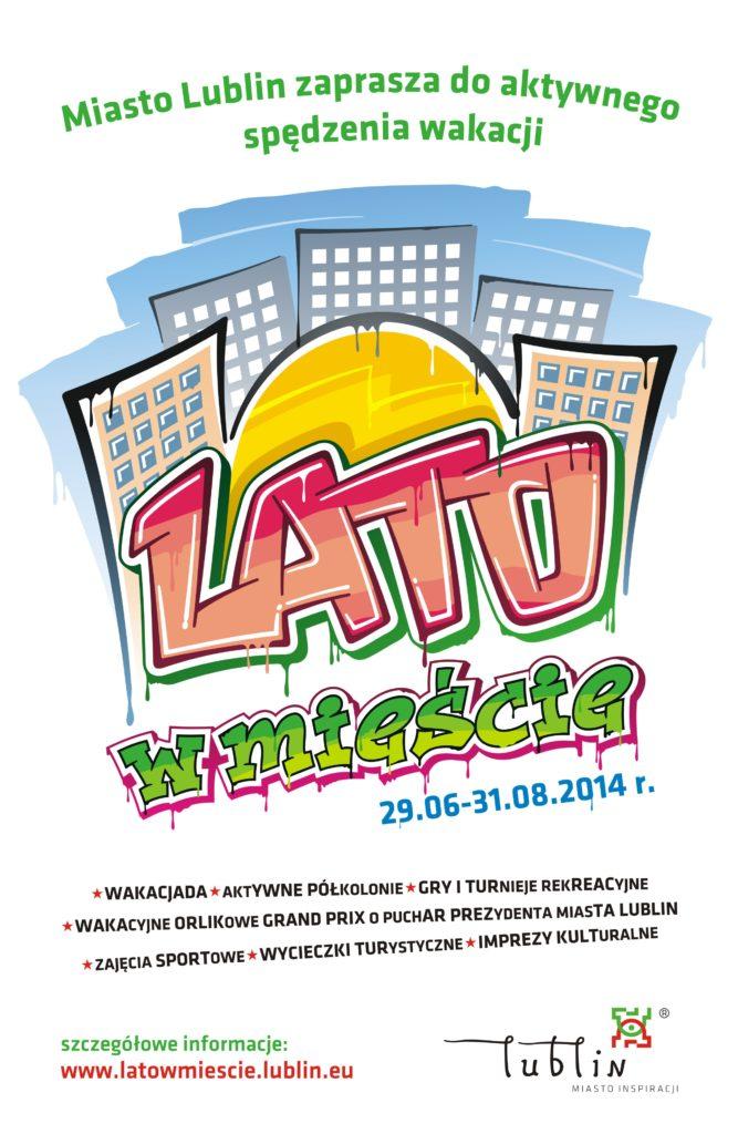 Lato w mieście 2014 plakat