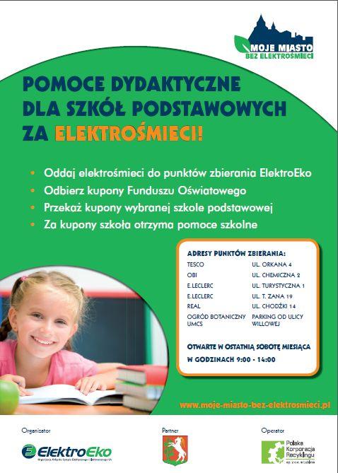 Lublin_zbiórka elektrośmieci